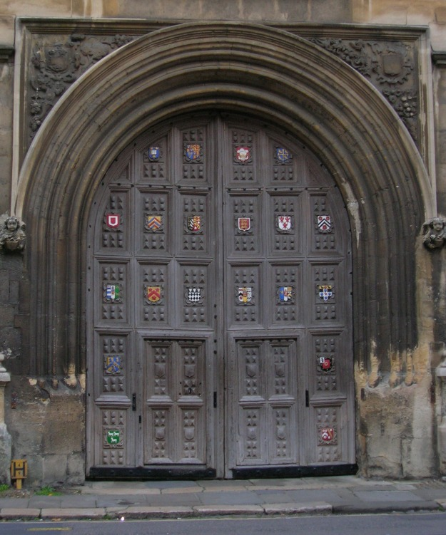 Entry Point for Oxford's Bodleian Library